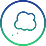 thoughts icon cloud bubble